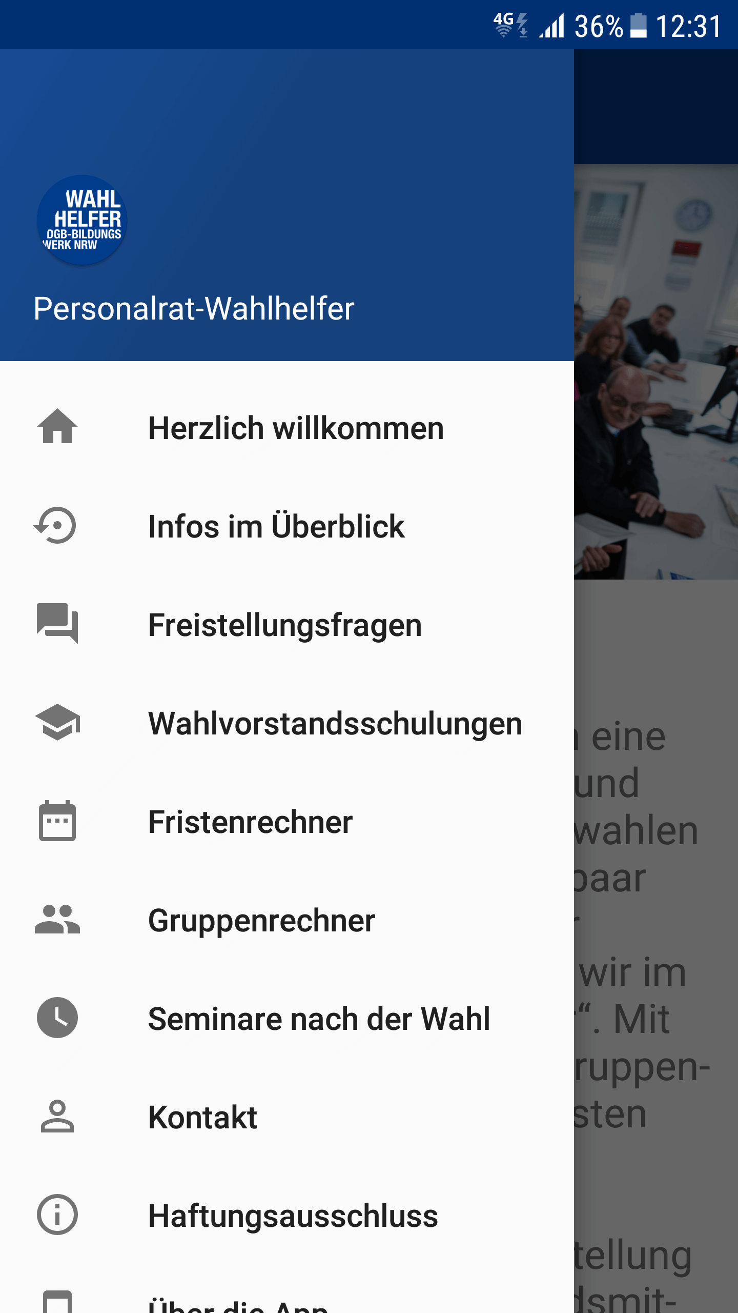 screen wahlhelferapp